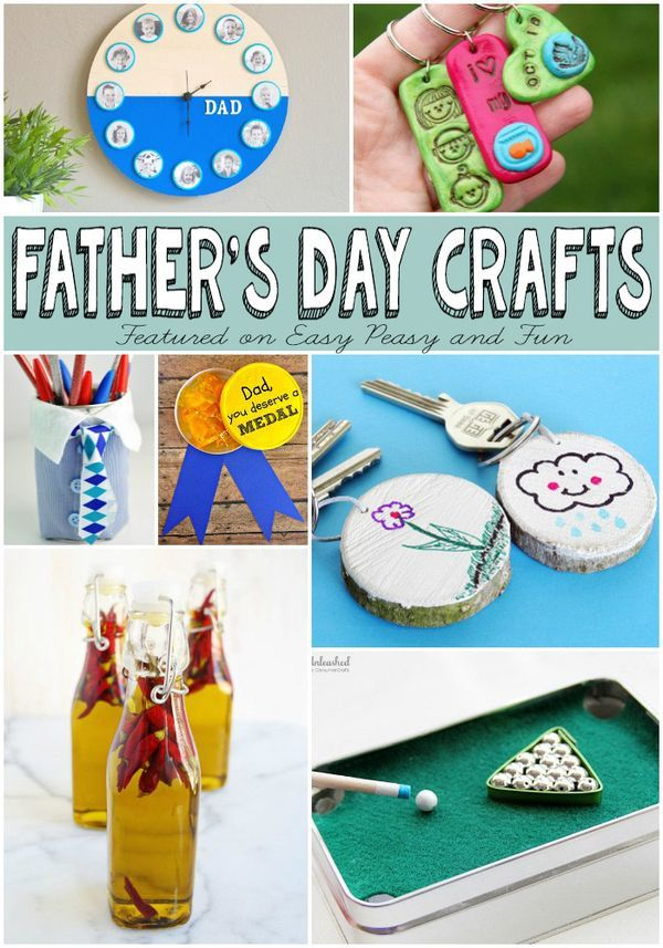 Fathers Day Gifts Kids Can Make | Fathers Day Crafts, Father's Day and