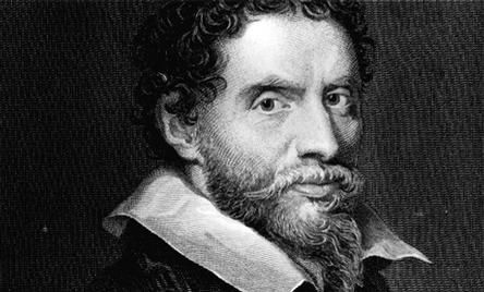 Ben Johnson. Playwright and poet. Born in Westminster, possibly, and a committed Londoner, though also of proud Scottish descent. Imprisoned three times, once for his first play which was deemed to be 'lewd, seditious and sklandrous'. His first hit was at The Curtain Theatre with Shakespeare in the cast. Best known for his satirical plays, such as 'Volpone' and 'The Alchemist'. In 1618 he walked from London to Scotland in 10 weeks, for a bet, it is thought.   In a duel cont