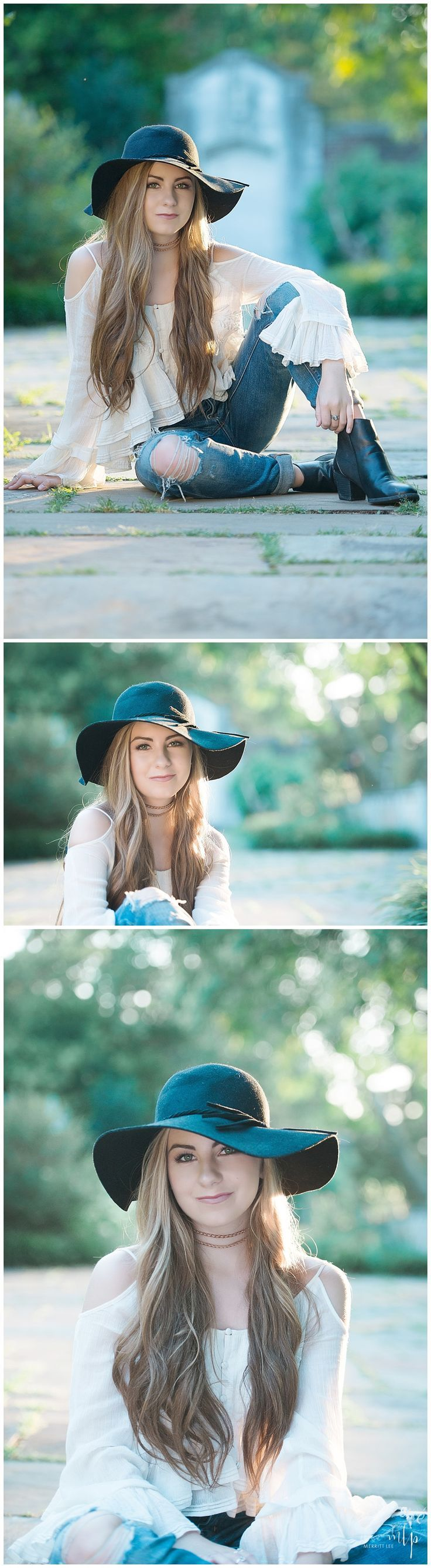 Senior Pic Idea! Styled shoot - Senior Pictures - Hairstyle - Loose Curls…