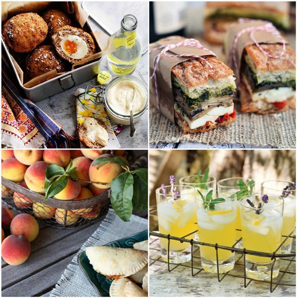 Happy Picnic Month: 30+ Delicious and Portable Picnic Recipes #picnic #food #drinks #recipes