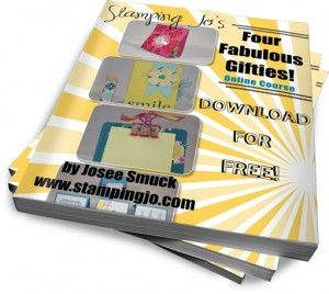 "Free Online Course- "" Four Fabulous Gifties"" E-Book Plus Step by Step Videos  #stampinup #cardmaking #stampingtechniques #giftidea"