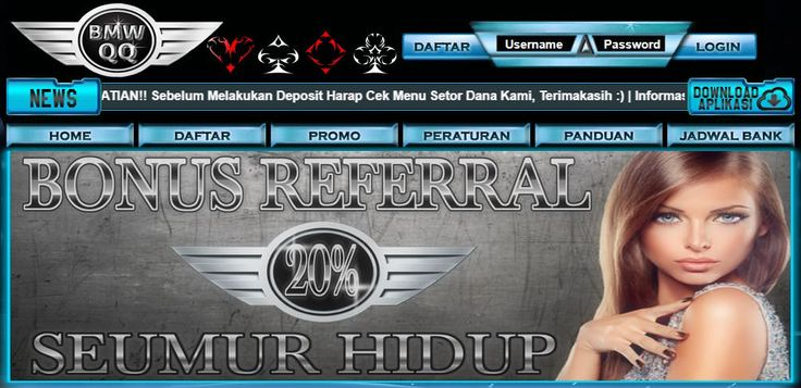 Pin by Anita Dewi on bmwqq | Bandar, Poker, Info