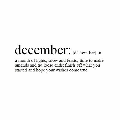 December the friday of the year...