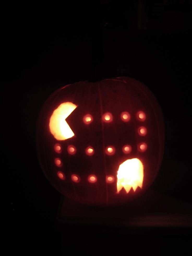 Pac-man pumpkin!