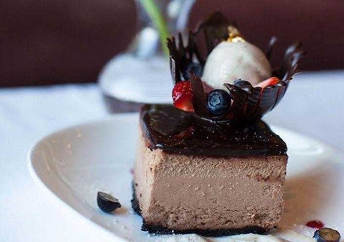Inn on Biltmore Estate Chocolate Cheesecake