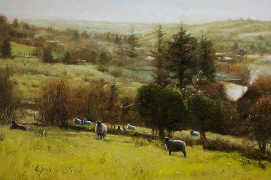 November by Henry McGrane on ArtClick.ie Ireland Landscape Art