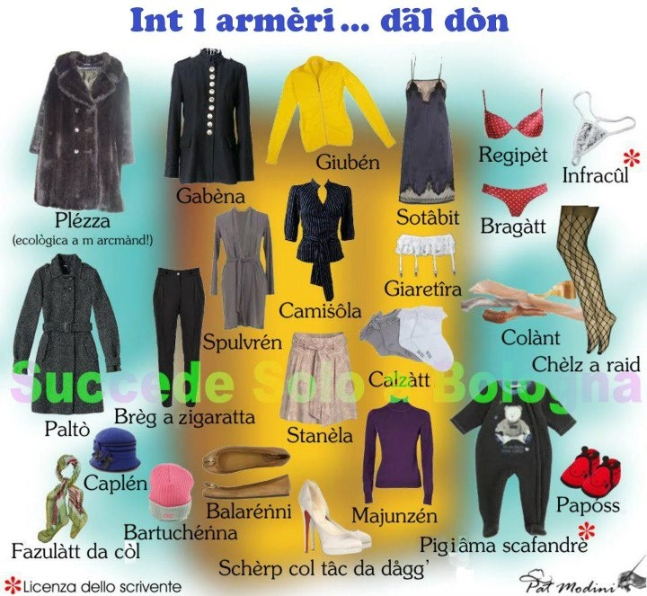 Women's Fashion in Bolognese Dialect  www.succedesoloabologna.it