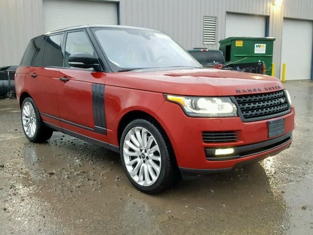 2017 Land Rover Range Rove 3 0l 6 For Sale Autobidmaster Place Your Bid Now Land Rover Car Auctions Auction