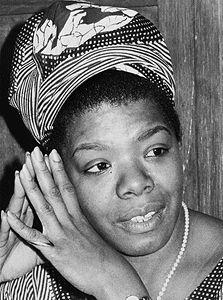 """Don't bring negative to my door.""   - Maya Angelou"