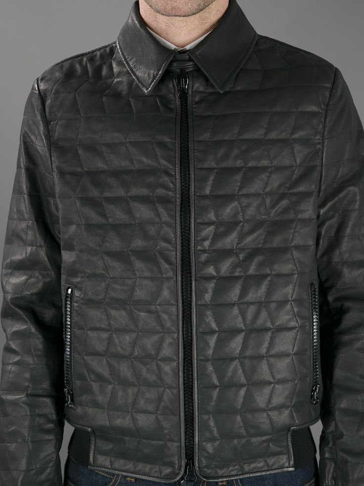 Lanvin Quilted Leather Jacket