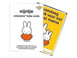 Nijntje milestone baby cards