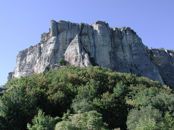 The Pietra di Bismantova in the Reggiano Apennines, is included in the National Park of the Appennino Tosco-Emiliano.