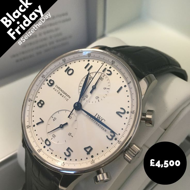 The IWC Portugieser Chrono, with huge #BlackFriday discount  A stunning timepiece for all occasions