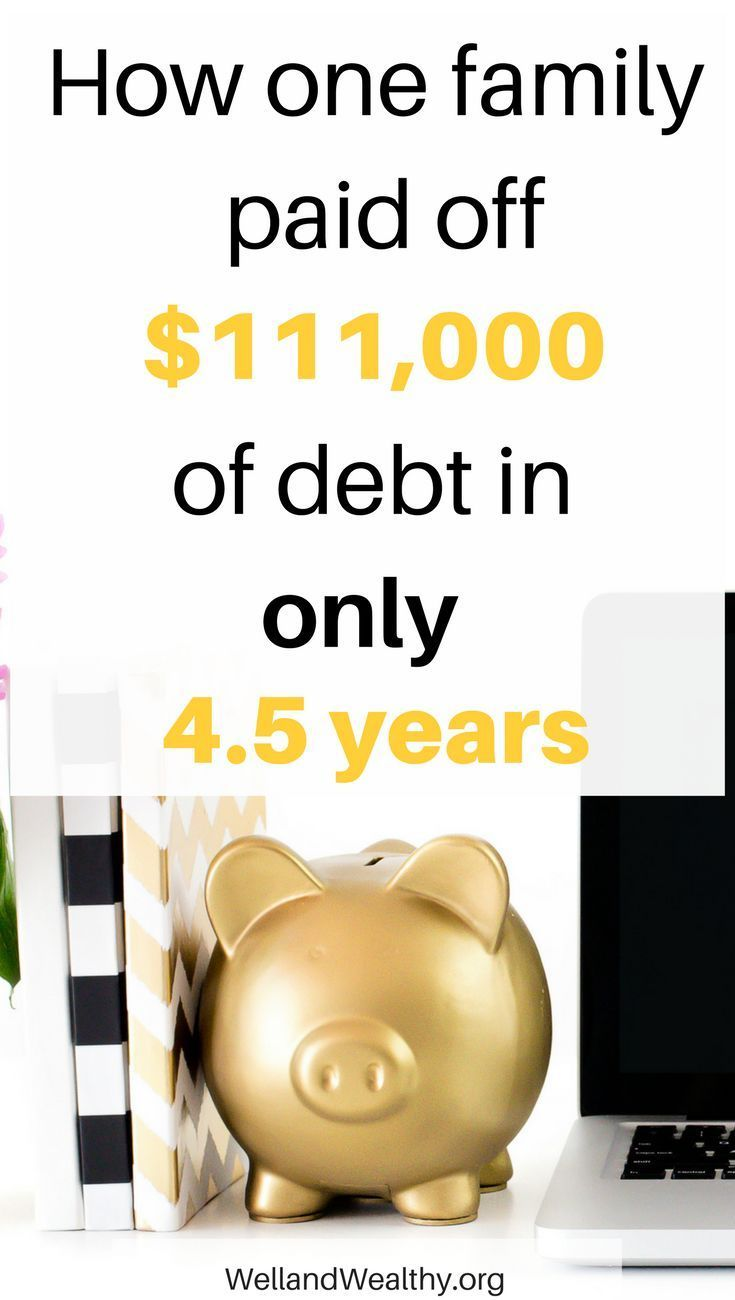 Want to know how one family paid off over $111,000 of debt in just 4.5 years? Then you need to read this ultimate debt payoff story! | Debt Free | Get Out Of Debt | Debt Snowball | Debt Payoff Tips | Debt Payoff Motivation | Debt Payoff Dave Ramsey | Debt Payoff Snowball | Debt Payoff Stories | Student Loan Debt | Student Loan Debt Pay Off | Student Loan Debt Tips | Student Loan Debt Dave Ramsey |