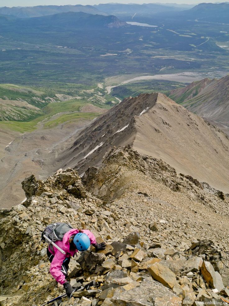 Mount Archibald, Yukon - Photo by Marko Marjanovic - Click through for story, hiking tips, and information.