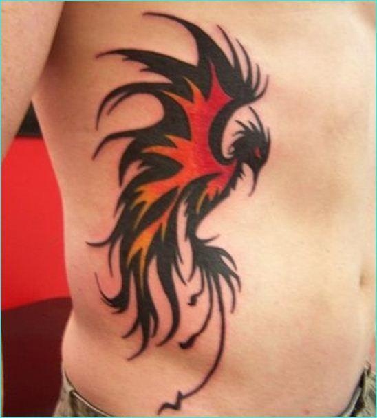 Tribal Phoenix Tattoo Design 28