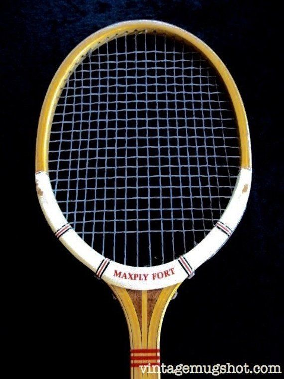 Vintage Dunlop Maxply Fort Tennis Racquet Leather Grip Gut Etsy In 2020 Tennis Racquets Tennis Racquet