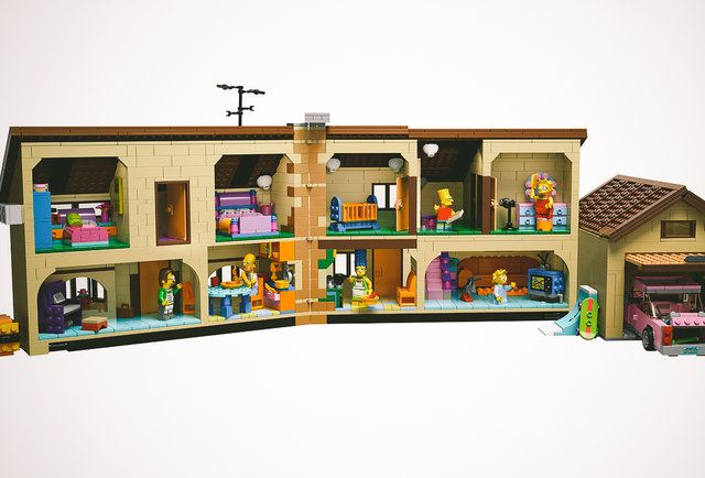 The Simpsons LEGO set is finally here