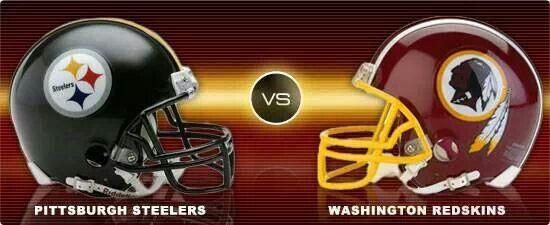 Image result for Pittsburgh Steelers vs. Washington Redskins
