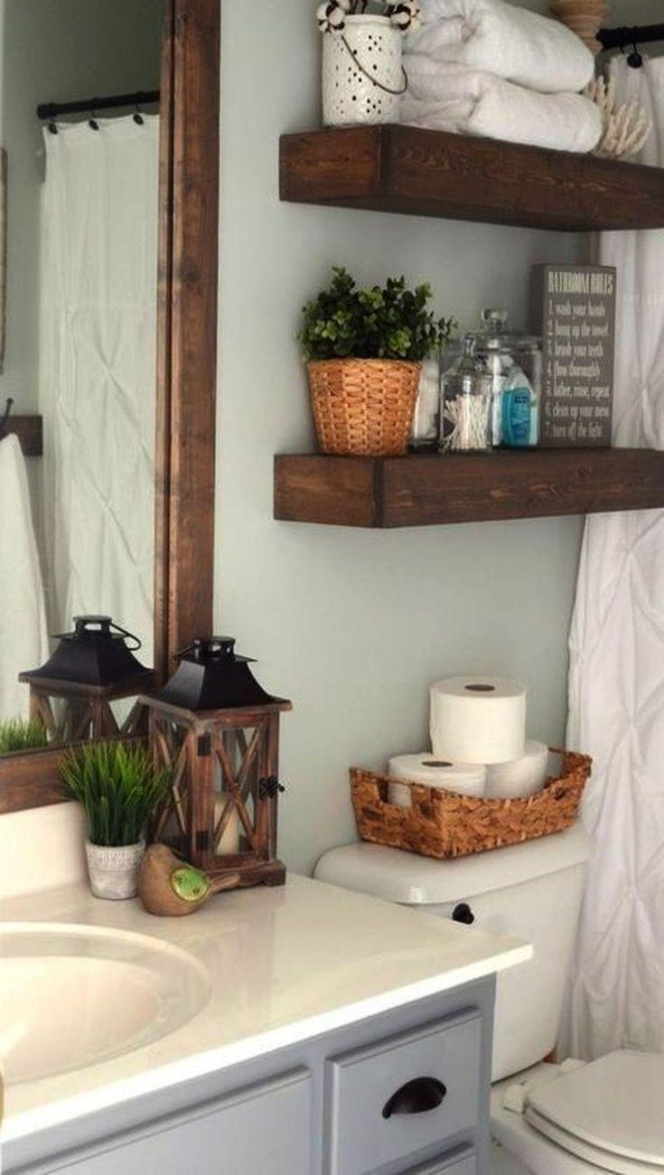 39 simply farmhouse bathroom accessories ideas you must