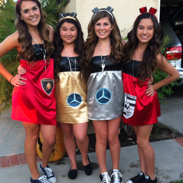 my daughter her friends halloween costumes - Halloween Friends Costumes