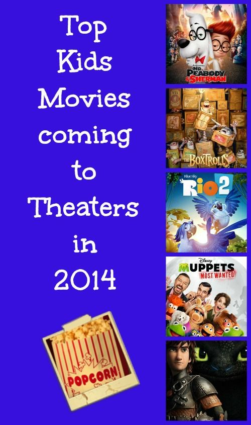 Lots of great films are hitting theaters this year -- and many are based on amazing children's books!