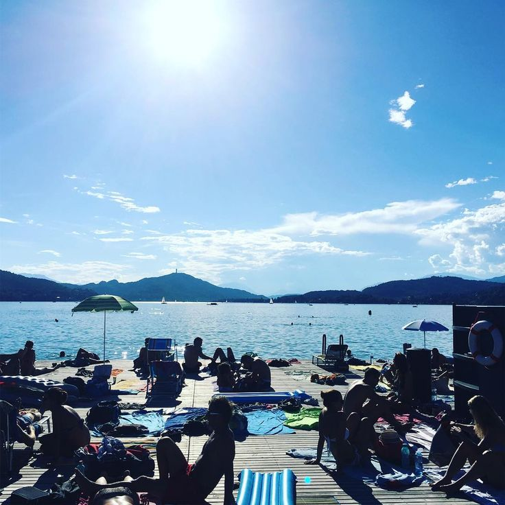 awesome summer day in #klagifornia ... only two weeks left until travel madness starts again plan for september so far: san francisco amsterdam colone Mallorca and london #startuplife #startup #bitmovin #travel #austria #klagenfurt