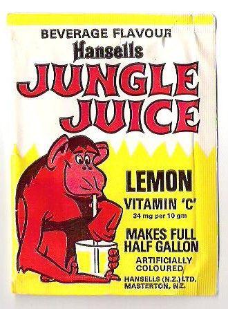 1970s Hansells Jungle Juice Packet 4