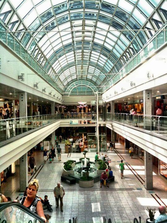 My first mall in Germany!- Olympia-Einkaufszentrum (OEZ)