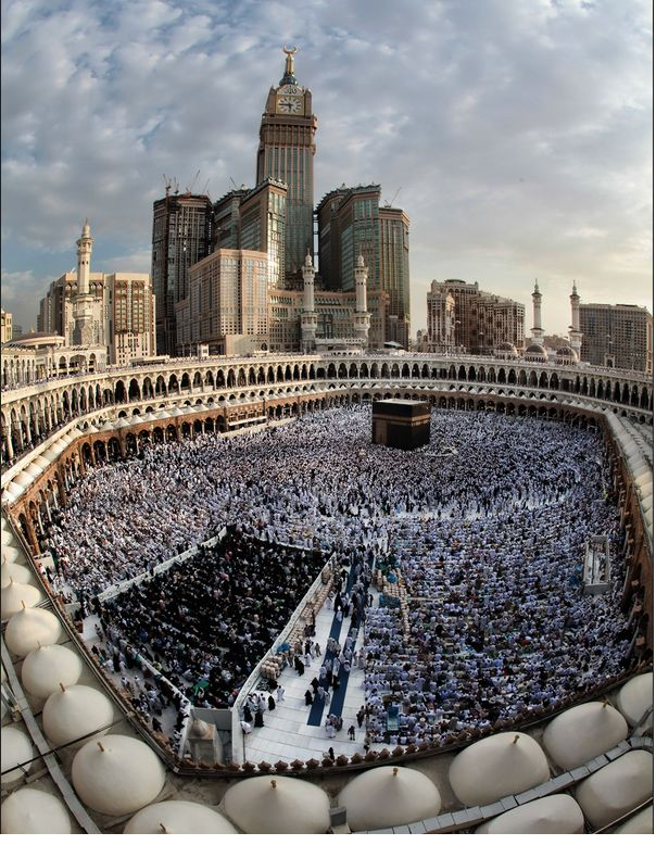 Beautiful photography of Kaaba, Mecca.