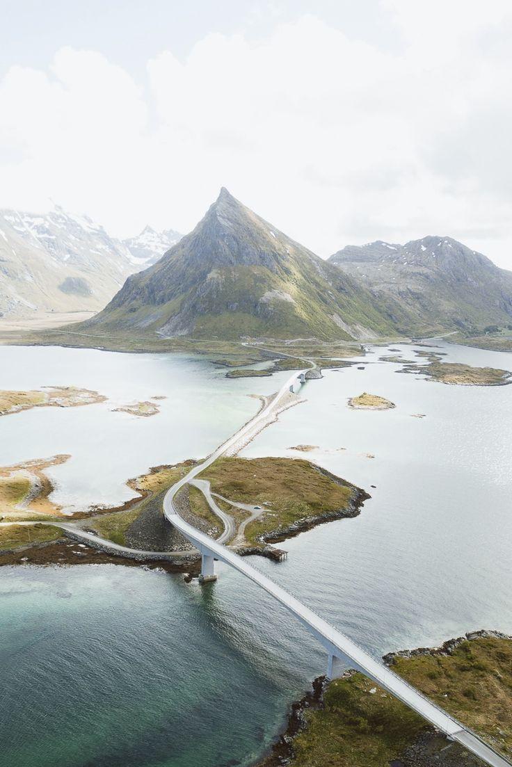 Lofoten Island Roads Norway