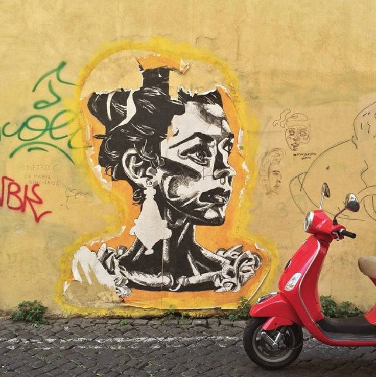 The 46 best Rome Street Art images on Pinterest | Street art, Urban ...