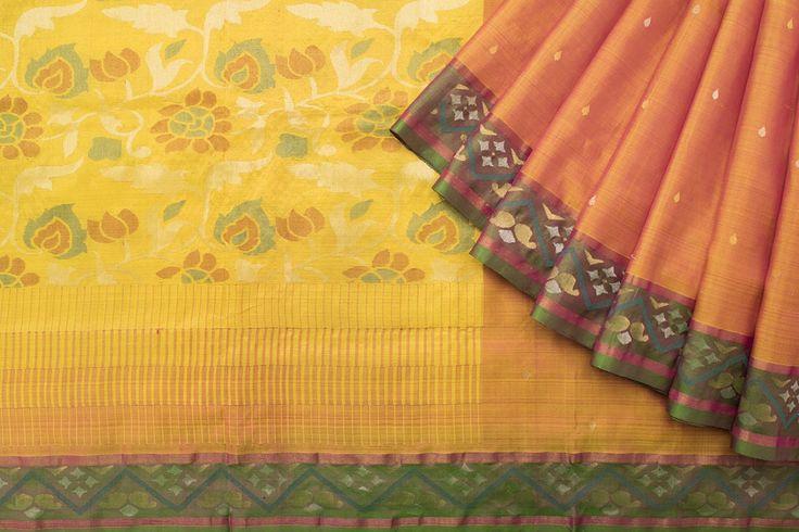Creative Bee Handwoven Silk Sari 1015046 - Saris / All Saris - Parisera