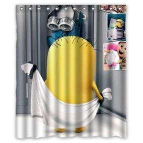 38 Best Cute Minion Shower Curtain Designs Images On