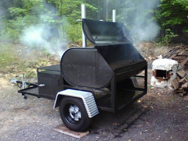 Recycling junk - MyTractorForum.com - The Friendliest Tractor Forum and Best Place for Tractor Information Finally found it, with link to site that shows step by step how to build this smoker on the trailer