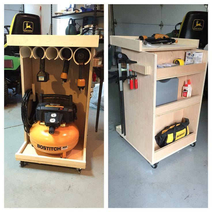 Best 25 Tool Cart Ideas On Pinterest: 25+ Best Ideas About Air Compressor On Pinterest