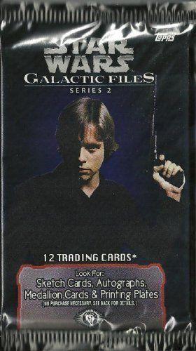 STAR WARS GALACTIC FILES 2 Trading 12 card pack //Price: $2.49 & FREE Shipping //     #starwarslife