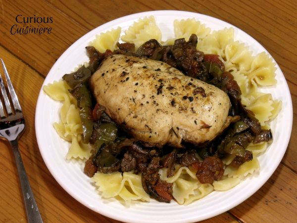 Chicken Cacciatore from Curious Cuisiniere