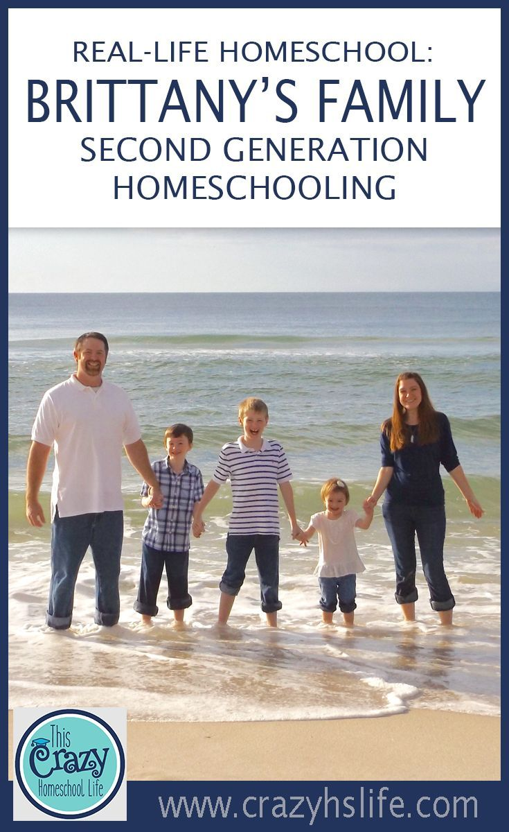 Meet Brittany and her family.  She is a second generation homeschooler in Mississippi with three children.  She reflects on her homeschool journey while enjoying the experience of teaching her own children.