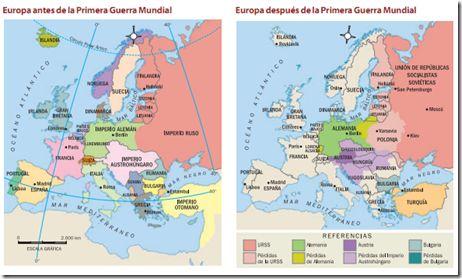 mapas de la primera guerra mundial antes y despues - Buscar con Google
