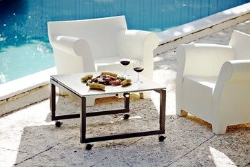 Casual teppanyaki grill tables   3x height adjustable - better than Fire Pits - Cook-N-Dine® International, Inc.