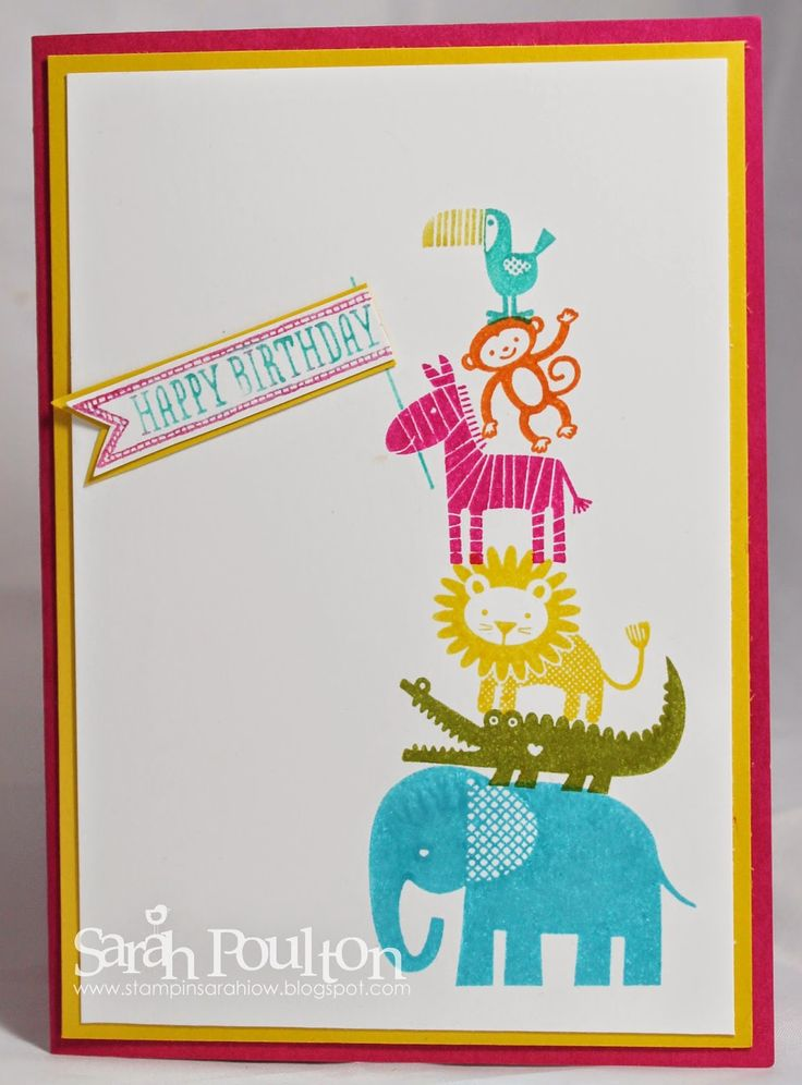 Stampin Up Birthday Cards For Kids ~ Images about children s card ideas on pinterest
