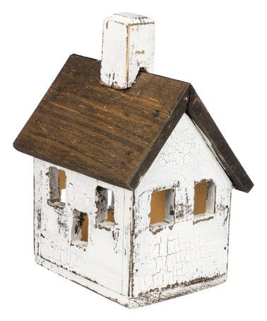 This Lighted Manor Birdhouse is perfect! #zulilyfinds