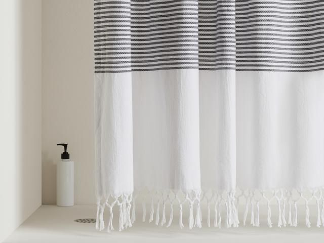 Turkish Shower Curtain In 2020 Curtains Shower Curtains With Rings