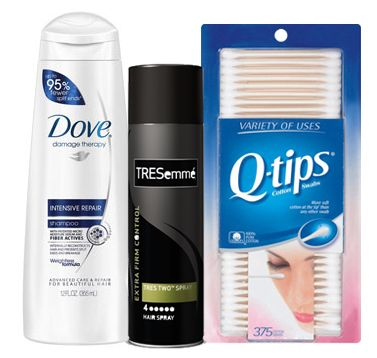 Dove Hair Care, Tresemme and Q-Tips, as Low as $0.10 at Target!