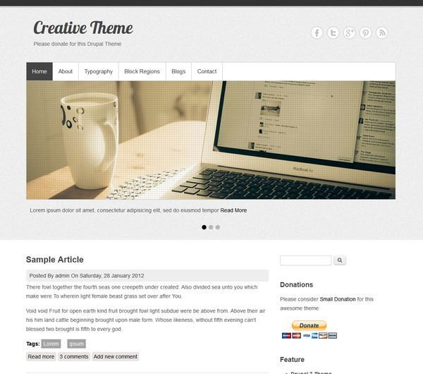 http://www.victoo.net/creative-free-drupal-template-465.html