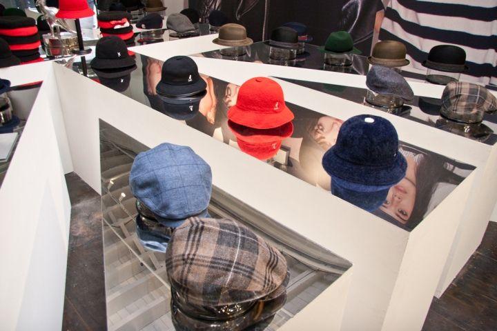 Kangol Pop-up Shop, New York City » Retail Design Blog
