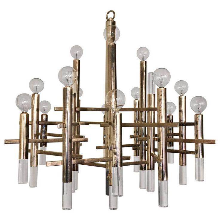 pendant chandelier modern. sciolari italian 1960s pendant chandelier modern l