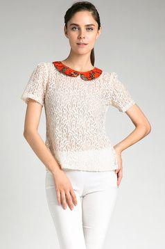 Melati Kuncup Top | batik lace top | | Batik bakaran pati | dhievine for berrybenka