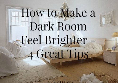 how to make a dark room feel brighter, tips and ideas for a family room or any dark room